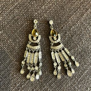 Art Deco Vibe Dangling Chandelier Earrings